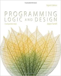Programming Logic and Design Cover